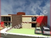h) EJEMPLO DE VISTA EN 3D DE CASA REFORMADA PARA OFICINAS (AUT. ROXANNA SANCHEZ)